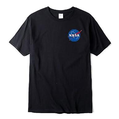 Amazon Com 2019 Nasa Space T Shirt Men Fashion Cotton Hip Hop