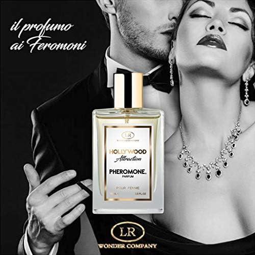 Hollywood Attraction Femme, profumo ai feromoni donna, per attrarre e sedurre (1x75 ml) LR Wonder Company