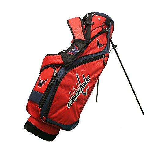 Bag Golf Embroidery (NHL Washington Capitals Nassau Golf Stand Bag, N/A, N/A)