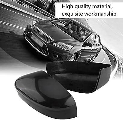 Amazon.com: qiilu Tapa de espejo retrovisor lateral Espejo ...