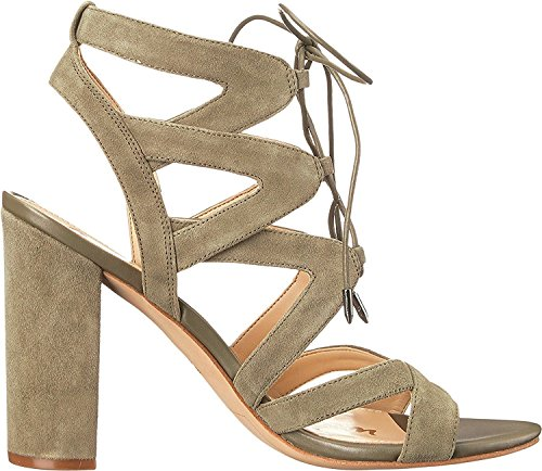 Sam Edelman Women's Yardley Dress Sandal Moss Green Kid Suede Leather exclusive free shipping outlet store cheap sale outlet free shipping cheapest price cheap sale excellent XtY29