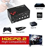 AV Access 4 in 1 Out HDMI 2.0 KVM Switch 4K60hz