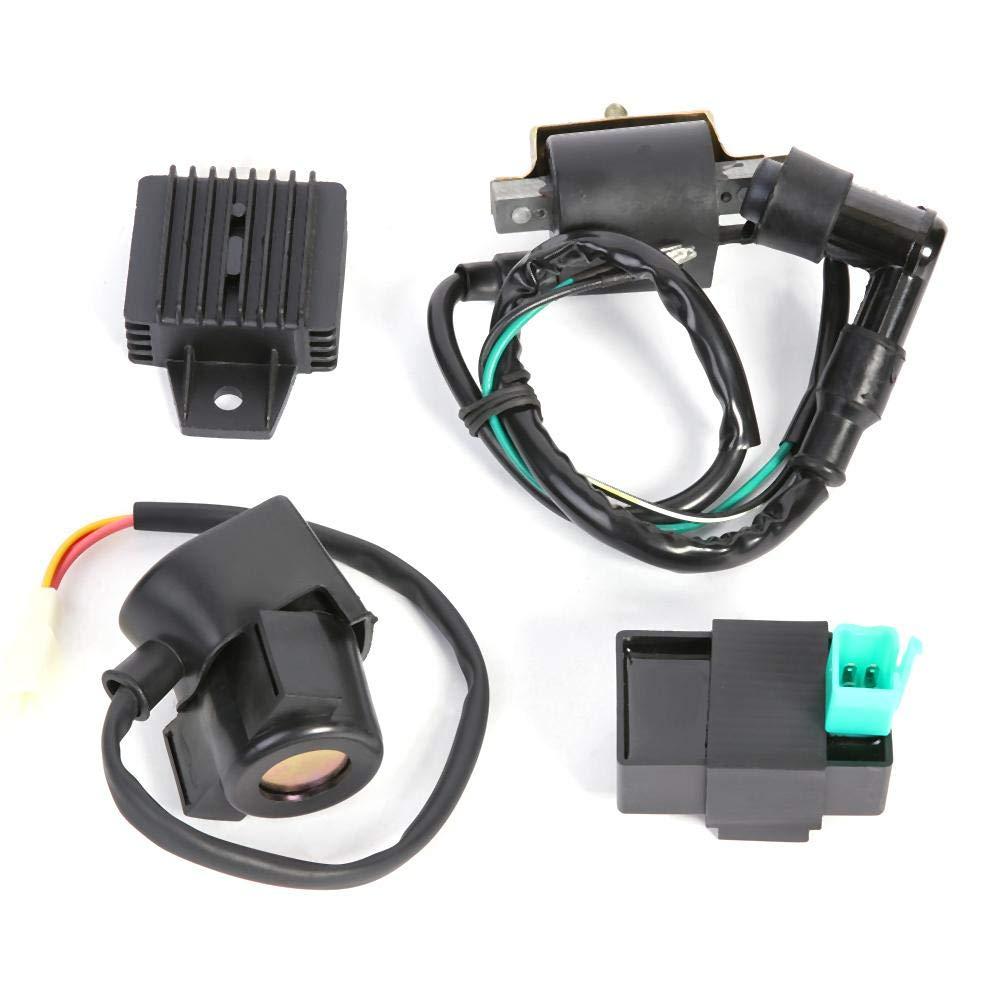 Rectificador de regulador Quad Chino ATV de 50-110 CC rel/é CDI Bobina de Encendido