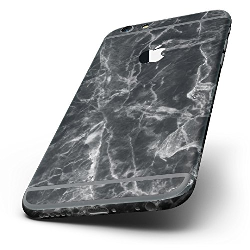 Smooth Black Marble iPhone 6 Plus Ultra-Thin Design Skinz Slim-Fitting Protective Cover Wrap
