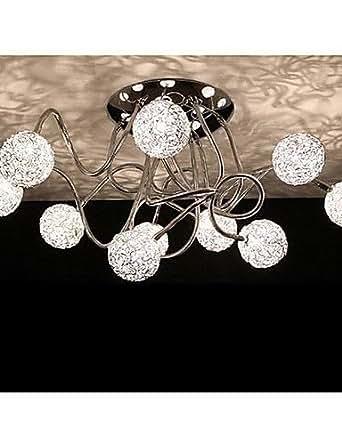 Candelabros, 10Luz, Artista BGE aluminio Chrome, 220–240V