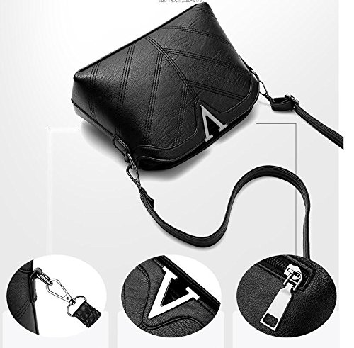Bolso Caliente black Todo Bolso Pack Meaeo Gris Bolso Match Nuevo Moda n8vqnX4