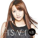 【特典トレーディングカード無し】Answer(初回生産限定盤B)(DVD付)