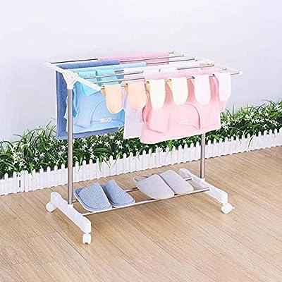 Toallero Tipo de Piso Tipo Secadora de Ropa para el bebé, Mini Bandeja de Toallas de baño multifunción
