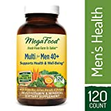 MegaFood – Multi for Men 40+, Multivitamin Support for Energy Production, Heart Health, and Memory, Mood, and Bones with Vitamin D3 and Methylated Folate, Vegetarian, Gluten-Free, Non-GMO, 120 Tablets Review