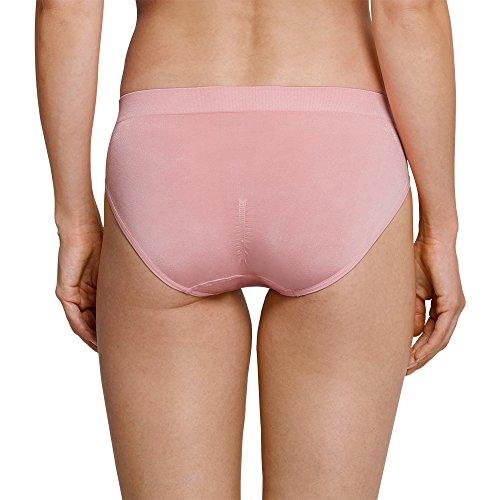 Schiesser Seamless Light Tai, Bikini para Mujer Rot (Sorbet 524)
