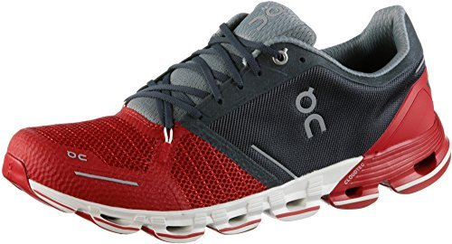 On Running Mens Cloudflyer Red/White Running Shoe - 8.5