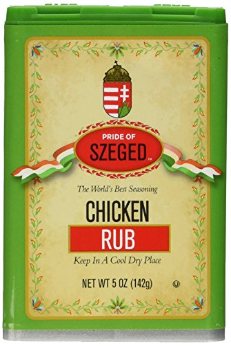 - Szeged Chicken Rub Seasoning (szeged) 5oz