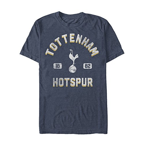 Fifth Sun Official Tottenham Vintage City Men's Tee, Blue//Premium Heather, Large ()