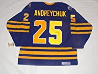 Dave Andreychuk Autographed Jersey - #25 Vintage Ccm Rare Coa - JSA Certified - Autographed NHL Jerseys