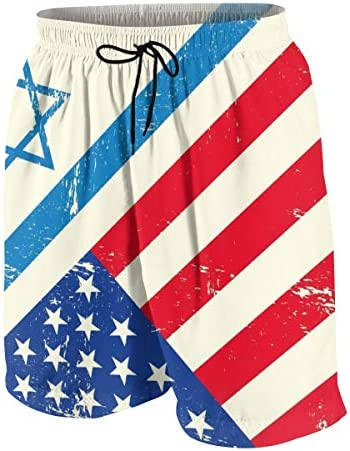 キッズ ビーチパンツ イスラエルとアメリカ サーフパンツ 海パン 水着 海水パンツ ショートパンツ サーフトランクス スポーツパンツ ジュニア 半ズボン ファッション 人気 おしゃれ 子供 青少年 ボーイズ 水陸両用