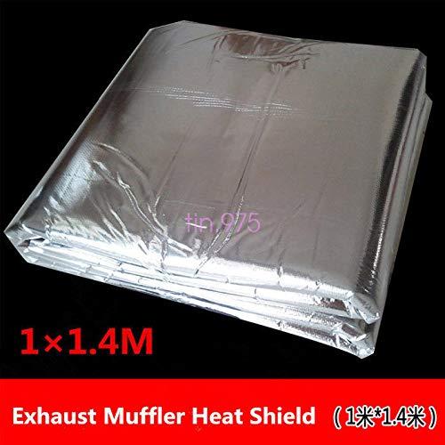 FidgetGear Heat Shield Mat Car Turbo Exhaust Muffler Insulation Hood Fiberglass Cotton Pad