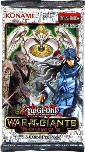 YuGiOh 1x War of the Giants Reinforcements 16 Card Booster Pack [Toy]: Amazon.es: Juguetes y juegos