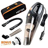 [Upgraded] Car Vacuum Cleaner, HOTOR DC12-Volt 106W Wet&Dry...