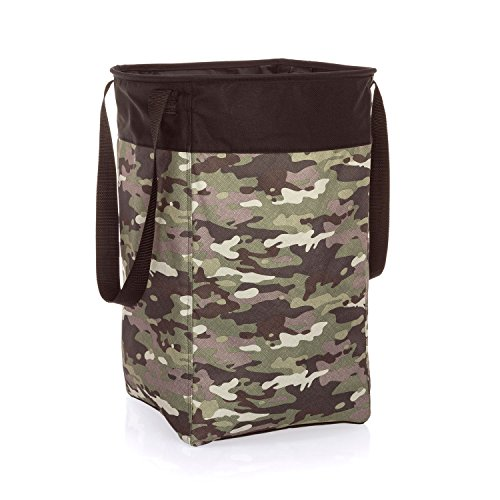 Thirty-One Stand Tall Bin in Camo Crosshatch - No Monogram - 4947