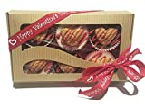 Grain Free Valentines day Dog treats Peanut Butter Hearts Gourmet dog Candy cups