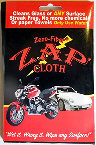 Zap Cloths the Ultimate Window Cleaner (Pack of 6)
