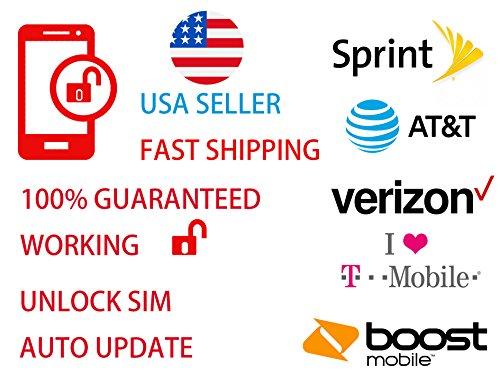 USim 4G Pro Unlock SIM Card for iPhone X 8 8p 7 7p 6 6p se 5s 5 5c