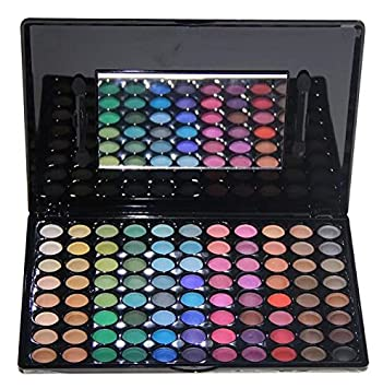 Amazing2015 Professional 88 color Eyeshadow palette Matte and Shimmer Palette Makeup, Cosmetics 01