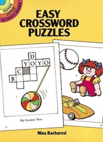 Crossword Puzzles Dover Little Activity