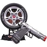 Toyshine Laser Target Gun Toy, Music and Lights, Shooting Game