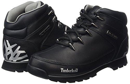 Timberland A17JR Herren Euro Sprint Hiker Chukka Boots- Gr. 46 EU, Schwarz (Black Reflective)