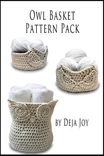 Pattern Crochet Basket (Owl Basket Pattern Pack)