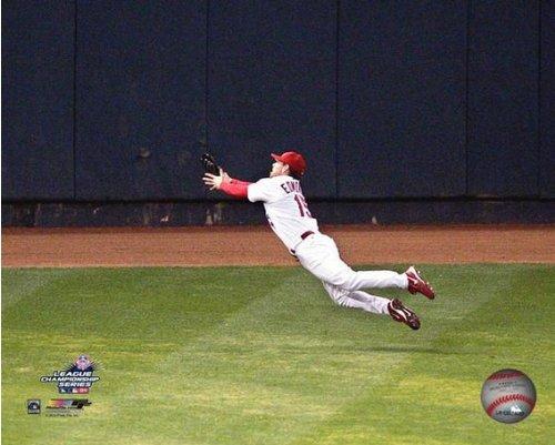 (Jim Edmonds St. Louis Cardinals 2004 NLCS Action Photo (Size: 8