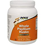 NOW  Psyllium Husk Powder,12-Ounce
