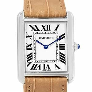 Cartier Tank Solo quartz mens Watch W1018355 (Certified Pre-owned)