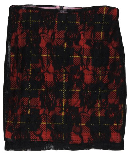 Abbey Dawn Teenage Dream Plaid Skirt Junior-Large for sale  Delivered anywhere in USA