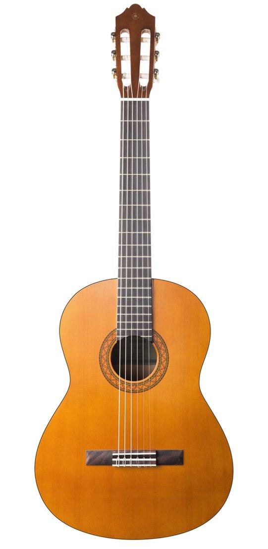 """Yamaha C40 II Guitarra Clásica – Guitarra 4/4 de madera, 65 cm 25 9/16"""", 6 cuerdas de nylon, color natural"""