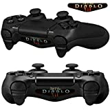 Mod Freakz Pair of LED Light Bar Skins Evil Demon Battle Horns for PS4 Controllers For Sale