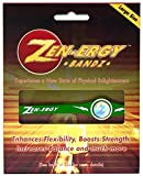 ZEN-ERGY Balance Bands - for Power, Strength, Agility, Focus, Well Being, & Positive Energy Flow (Large (202mm), Green Band with White)