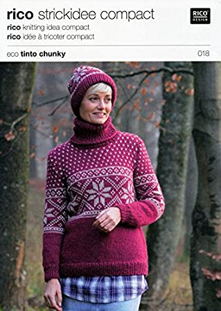 Amazon.de: Rico Design Chunk Chunks Chunk Norweger Pullover in ...