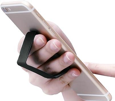 dodocool Finger Grip Soporte para Teléfono 2-en-1 Portátil Cuero ...