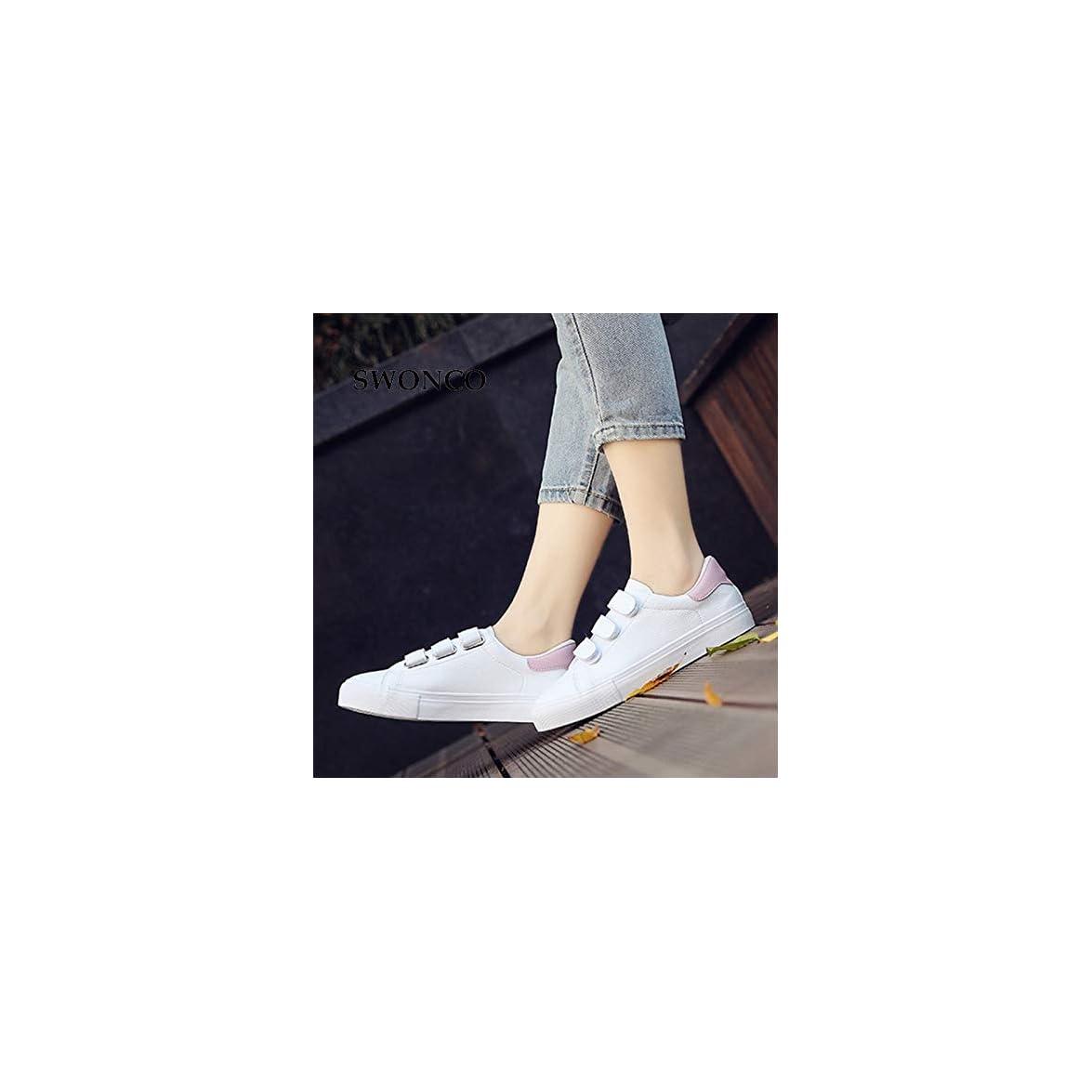 Ysfu Sneaker Scarpe Da Ginnastica Delle Donne Vulcanizzate Sportive Caramelle Colore Tela All'uncinetto Bianche Donna Suole