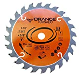 "ORANGE TORNADO 6-1/2"" 24 Tooth framing Saw Blade"