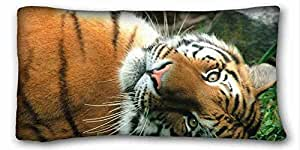"""Generic Personalized Animal DIY Pillow Cover Size 20""""X36"""" suitable for King-bed"""