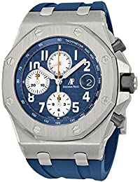 Royal Oak Offshore Blue Dial Chronograph Mens Watch 26470STOOA027CA01