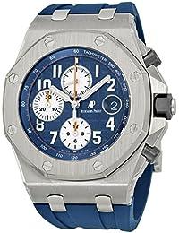 Royal Oak Offshore Blue Dial Chronograph Mens Watch 26470STOOA027CA01