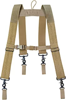 product image for Atlas 46 24/7 Comfort-Tuff Suspenders Heavy Duty Black, One Size Fits Most | Work, Utility, Construction, Contractor, and Tactical