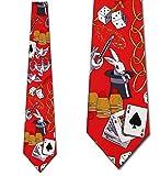 Magic Ties Magic Hat Neckties Red Tie Mens Neck tie