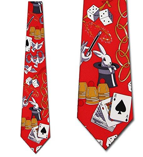 Magic Tie - Magic Ties Magic Hat Neckties Red Tie Mens Neck tie