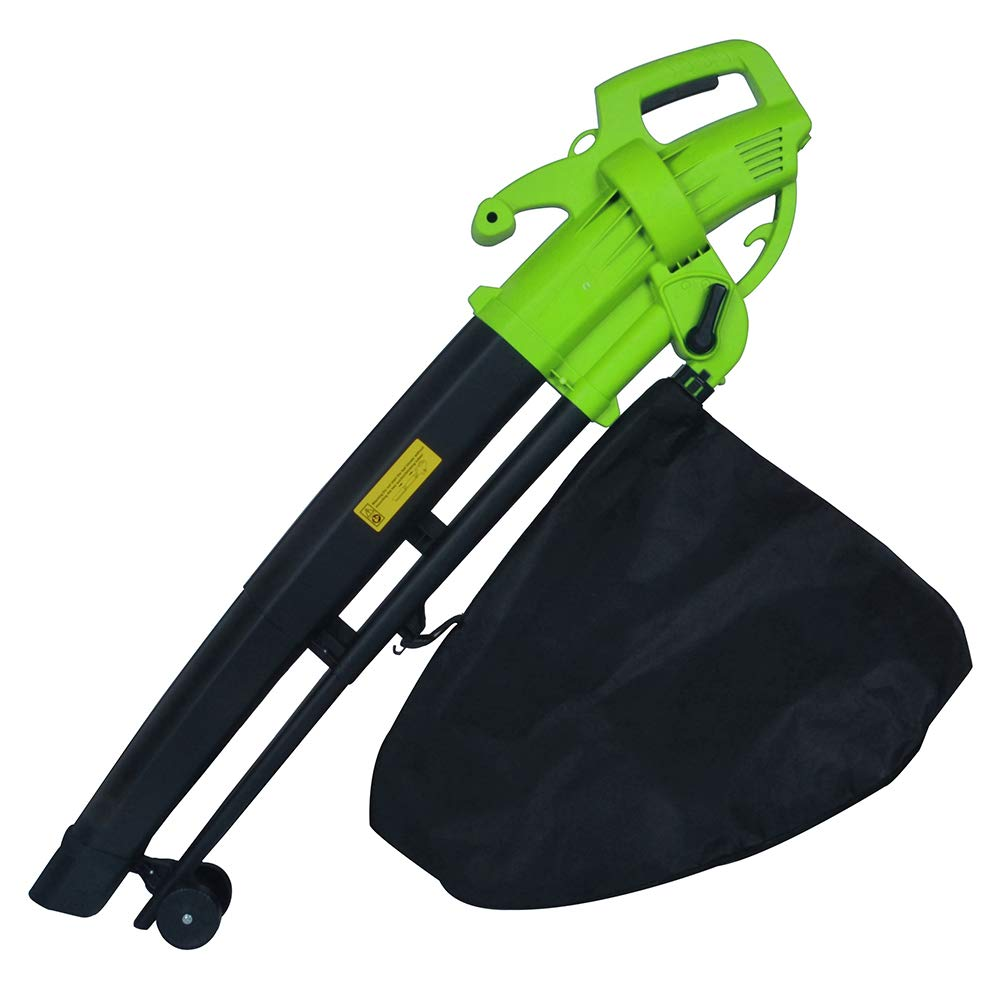 Callow Outdoor Garden Leaf Blower & Vacuum - Powerful 3000 Watt with Variable Speed & Long cable Callow Retail