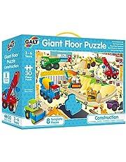 Galt Toys, Giant Floor Puzzle - Construction Site